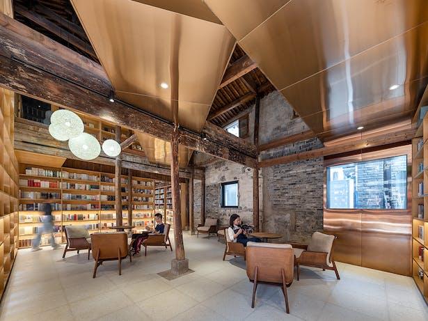 Courtyard Bookstore, photo: Wu Qingshan