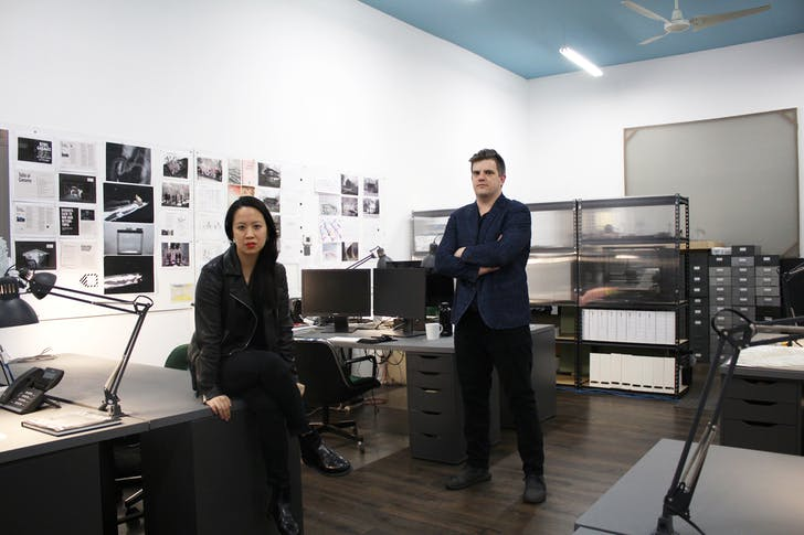 Ann Lui (left) and Craig Reschke (right) of Future Firm.