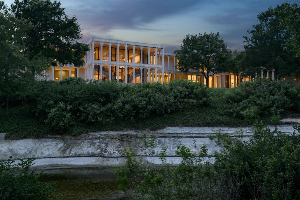 Philip Johnson's Beck House in Dallas is listed at $19 5M