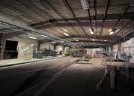 Digital Fabrication - Warehouse Laser Scan