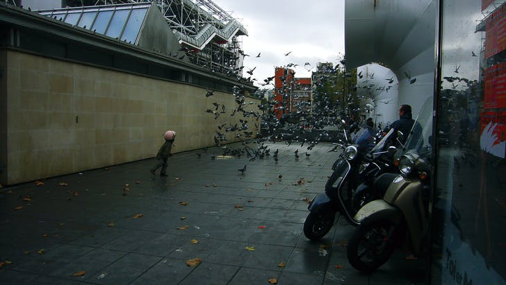 Pompidou Center. Image: Yury Ostromentsky via Flickr.