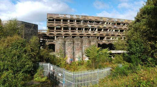 A battle is brewing over the future of St. Peter's Seminary, a neglected Brutalist building.Image courtesy of Lairich Rig.