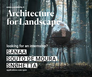 Sou Fujimoto, AMDL Circle, Alvisi Kirimoto: discover the internships and lectures of 'Architecture for Landscape' — 2021 edition