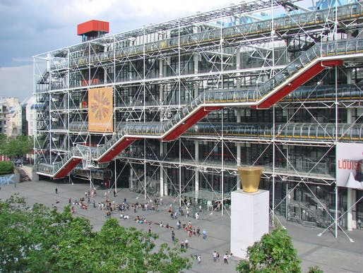 "Open since 1977, the Centre Pompidou is weighing possible renovation strategies for the aging structure. Photo: Jean-Pierre Dalbéra/<a href=""https://www.flickr.com/photos/dalbera/2496569412"">Flickr</a>"