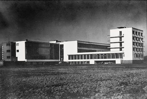 Lucia Moholy, Bauhaus Building, Dessau, 1935-6.