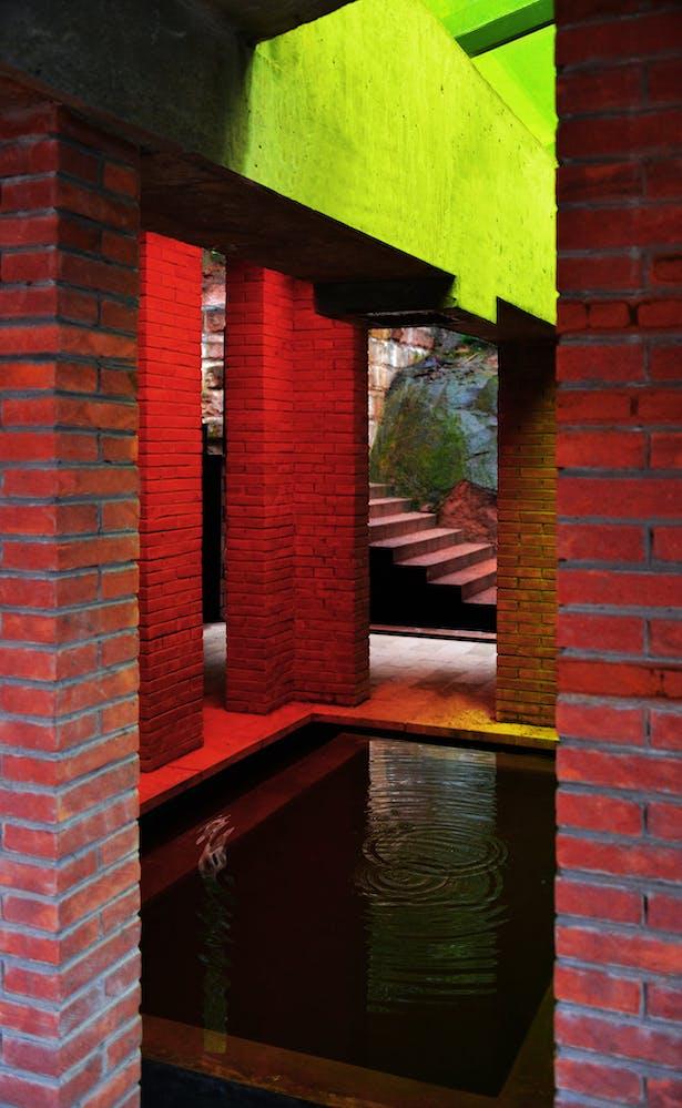 Courtyard Pool Credits: West-line Studio