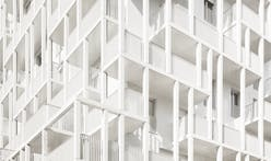 New social housing project in Paris features a balcony network design
