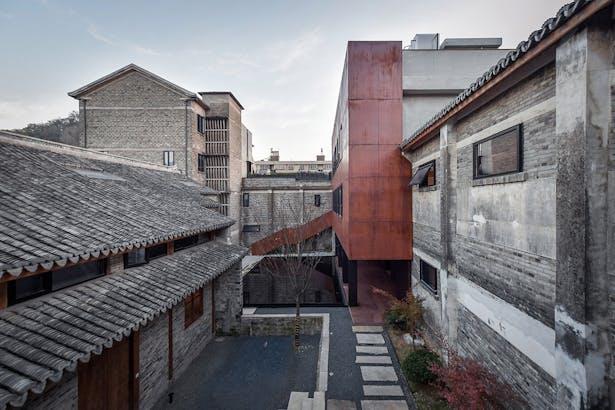 Inner Courtyard Landscape, photo: Wang Ning