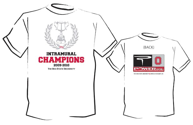 Intramural Champions T-shirt