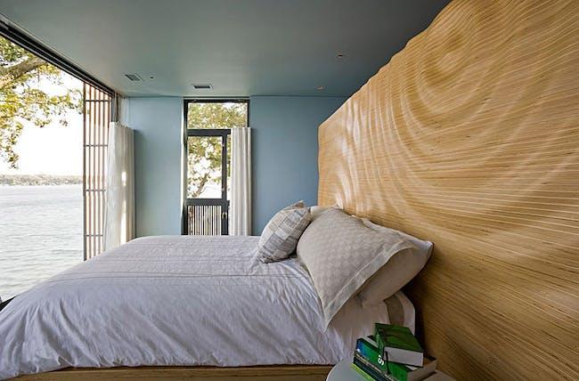 Lake Cabinet & Bed in a house on Lake Okoboji, West Lake Okoboji, IA by Min|Day (Photo: Paul Crosby)