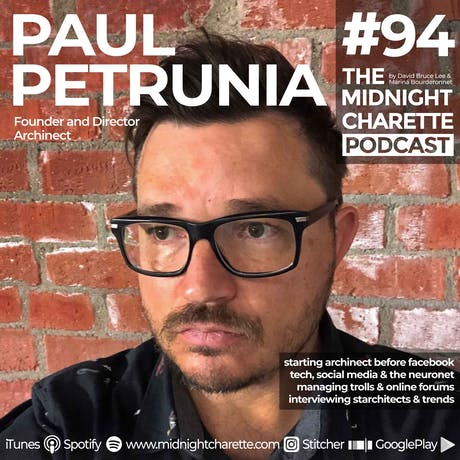 Paul Petrunia Founder of Archinect talks tech and moderating its forum - Podcast #94