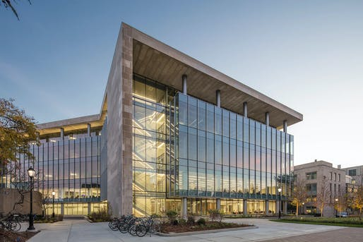 Science and Engineering Library and Laboratories at Northwestern University by Flad Architects.