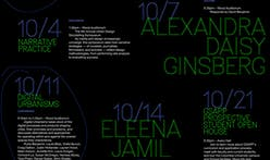 Get Lectured: Columbia GSAPP, Fall '19