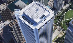 Chicago's Aon Center will have tallest exterior glass elevator in North America