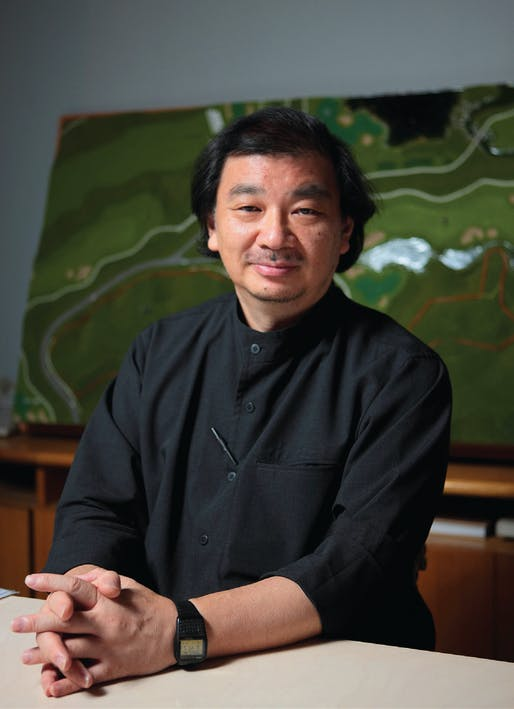 Shigeru Ban, 2014 Pritzker Architecture Prize Winner. Photo by Shigeru Ban Architects