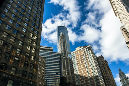 """Chicago view. Image © Photo via henrys54/<a href=""""https://bit.ly/2lwexrR"""">Flickr</a>"""