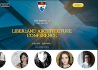 Speaker at LIBERLAND ARCHITECTURE CONFERENCE