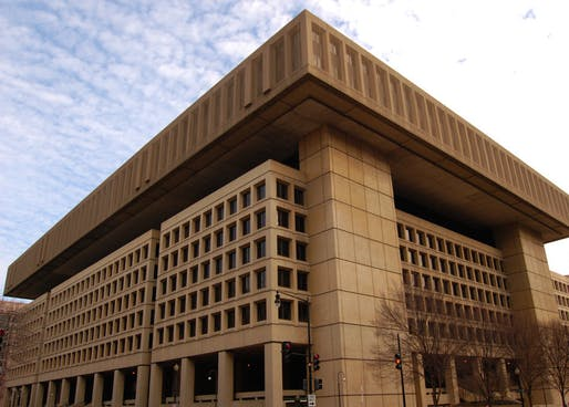 FBI building, Washington D.C. Image: Mark Plummer/Flickr.