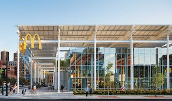McDonald's new global flagship moves the company in a bold new design direction