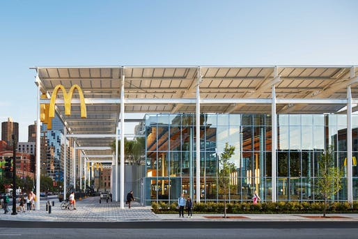 McDonald's Global Flagship, by Ross Barney Architects
