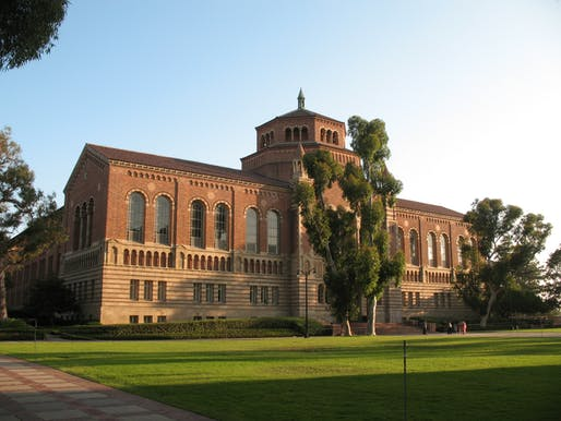 UCLA's Powell Library poses a 'serious risk to life' according to a new report. Image courtesy of Flickr user Bogdan Migulski.
