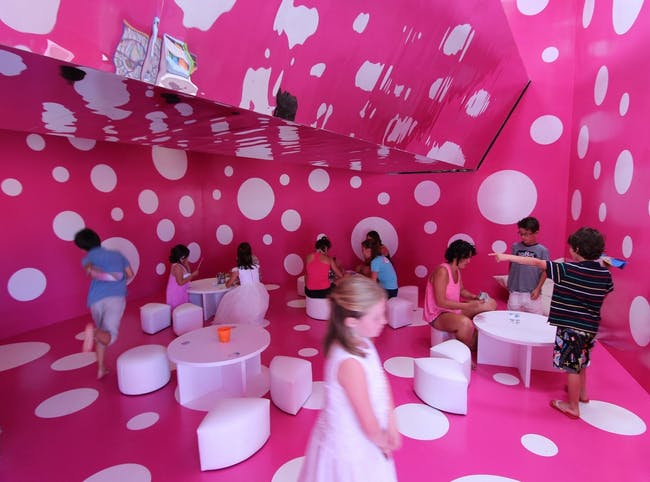 Kaleidoscope. Space for Children in Porto Cristo, Spain by A2arquitectos; Photo: Laura Torres Roa