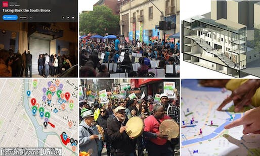 Community Land Trust as a Model for Public Space.jpg: Community Land Trust as a Model for Public Space, proposed by South Bronx Unite, in collaboration with New York City Community Land Initiative and the Mott Haven-Port. Image courtesy of Bronx Unite.