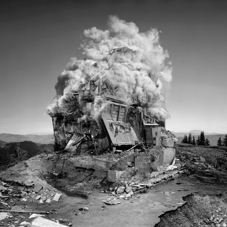 untitled (implosion), 2008 © Jim Kazanjian