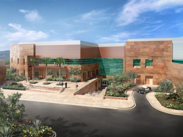 Concept Rendering - Staff Plaza