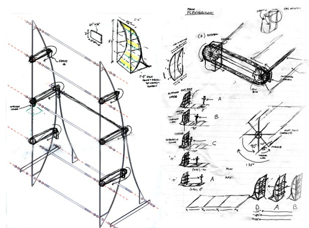 Kinetic Concept Sketches