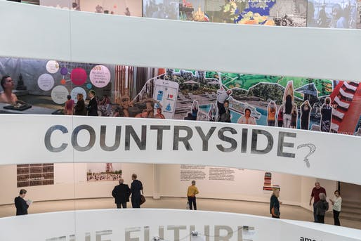 """Countryside, The Future"" is currently on view at the Guggenheim Museum in New York City. Image by Laurian Ghinitoiu / courtesy AMO."