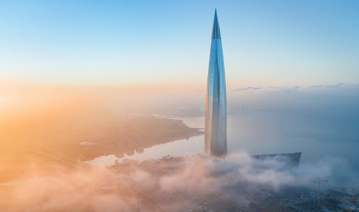 Lakhta Center, Europe's new tallest skyscraper, now officially commissioned