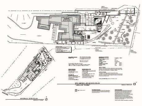 Sunset Ave - Site Improvements, 2015 - Plans