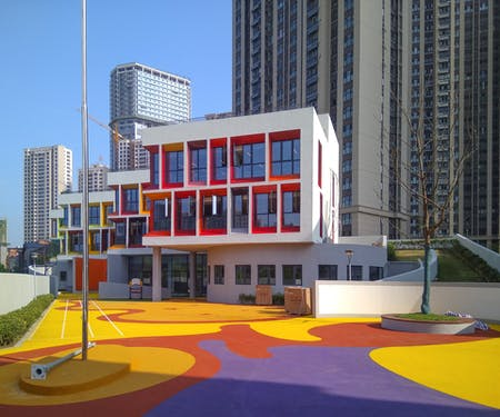 Urban Mansion Kindergarten in Hefei China. Image © VolumeOne.