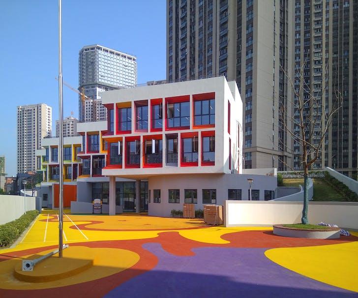 Urban Mansion Kindergarten in Hefei China. Image © VolumeOne.