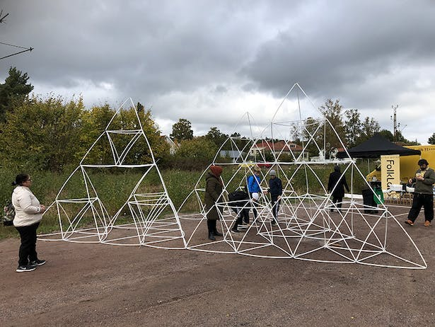 Built space Structure built by local residence