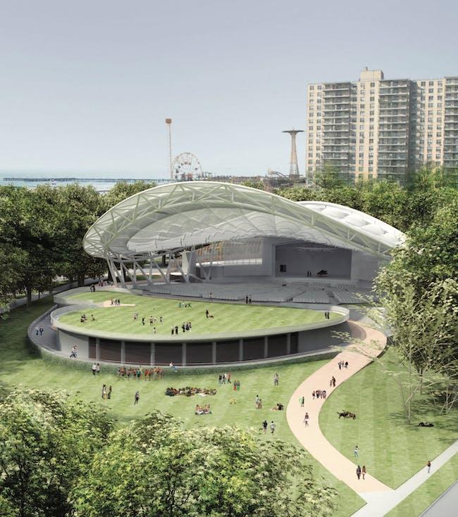 Grimshaw Architects Coney Center (2009). Courtesy of Distributed Art Publishers, Inc.