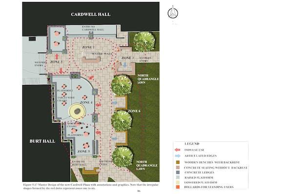 Master Design for the North Quadrangle Plaza