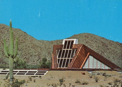 House of the Future, by Charles Schiffner of Taliesin Associated Architects.