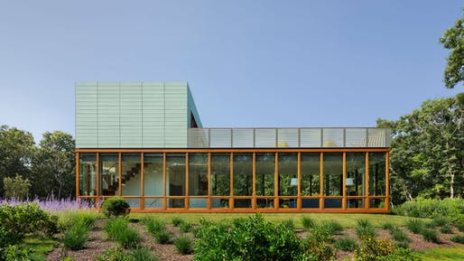 Green House. Image courtesy of Roger Ferris + Partners
