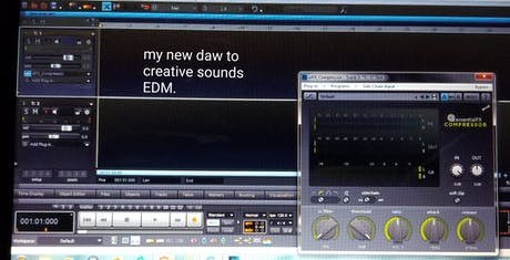 Creative Architecture my new DAW to creative music EDM.