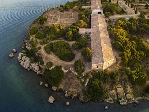 Hauser & Wirth Menorca on Isla del Rey. Courtesy Hauser & Wirth. Photo: Be Creative, Menorca
