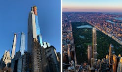 Central Park Tower rises above 432 Park, officially becomes tallest residential building in the world