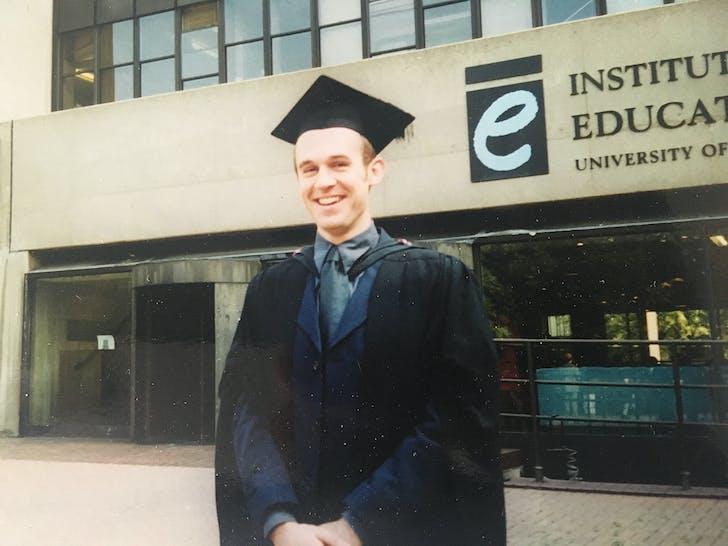 Graduation from Bartlett in 1999
