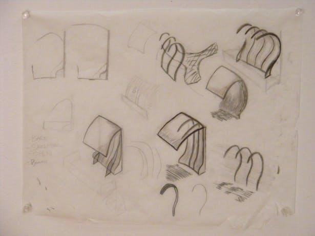 sketches of ribbing
