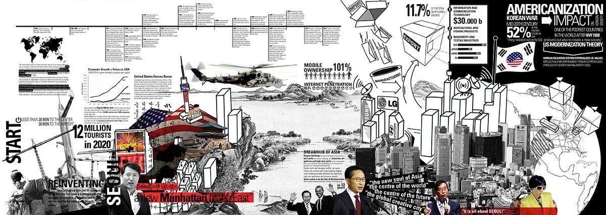 Korean Diaspora by Carlos Zarco Sanz - 3rd-prize entry from