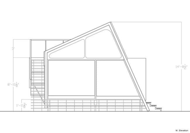 Elliot Earls Artist Studio (W. Elevation) via Tenzin Phuntsok.