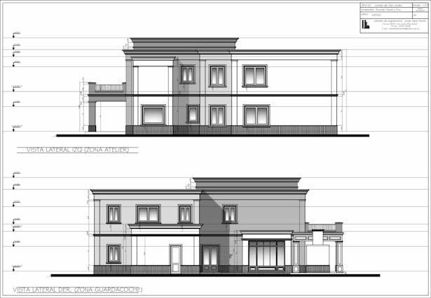 Side facade drawings