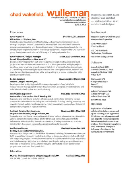 Resume V.1, suggestion welcome and preference between V.1 or V.2