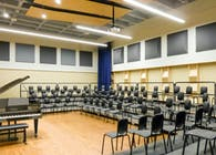 State University of New York, Oswego - Choral Practice Room at Tyler Hall